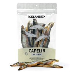 Icelandic+ Capelin Whole Fish Dog Treats - 2.5oz bags