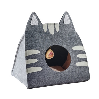 Lille Cat Cave anthracite/grey by HUNTER