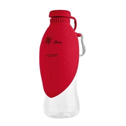 Outdoor Drinking Bottle Red with silicone bowl by HUNTER