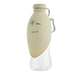 Outdoor Drinking Bottle Tan with silicone bowl by HUNTER