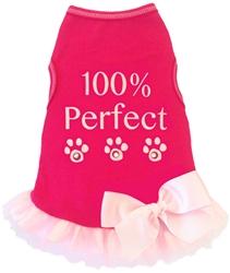 100% Perfect - Tank - Hot Pink