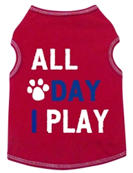All Day I Play - Tank - Red