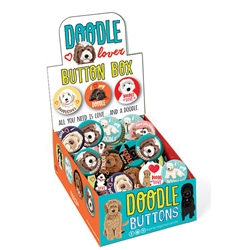 Doodle Lover Button Box