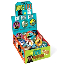It's a Dog's Life Button Box