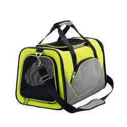 HUNTER - Pet Carrier Bag, Kansas Light Green/Grey