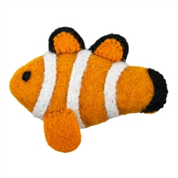 Wooly Wonkz Sea Toy Clown Fish