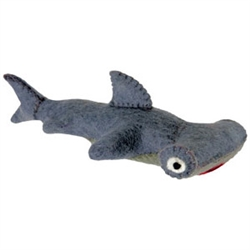 Wooly Wonkz Sea Toy - Hammerhead