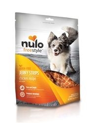 NULO FREESTYLE JERKY STRIP CHICKEN WITH APPLE TREATS 5OZ