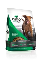 Nulo FreeStyle Freeze Dried Raw Grain Free Duck Dog Food