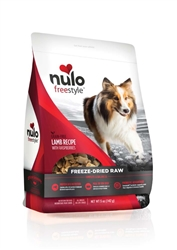 Nulo FreeStyle Freeze Dried Raw Grain Free Lamb Dog Food