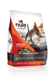 Nulo FreeStyle Freeze Dried Raw Grain Free Turkey Dog Food