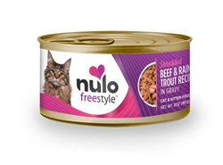 Nulo FreeStyle Shredded  Canned Cat Food 3oz