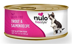 Nulo FreeStyle 5.5oz  Canned Cat Food (Case of 24)