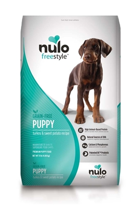 Nulo FreeStyle Grain Free Turkey & Sweet Potato Puppy Recipe