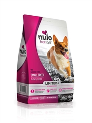 Nulo FreeStyle Limited+ Grain Free Small Breed Turkey Dry Dog Food