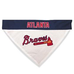 Atlanta Braves REVERSIBLE Dog Bandana