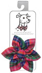 Sweet Tart Plaid Pinwheel by Huxley & Kent