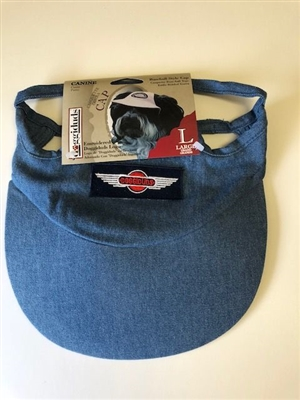 DENIM CANINE CAP / SIZE LARGE