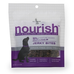 Nourish Jerky Bites - Pasture Raised Lamb