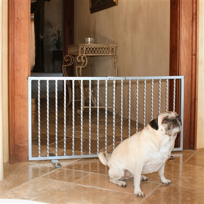 Wrought Iron Step Over Gate