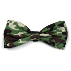 Camo Brown Bow Tie