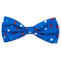 Patriotic Stars Bow Tie