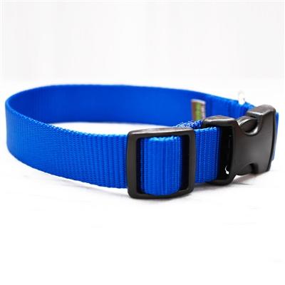 Nylon Webbing Collars & Leashes - 27 Colors