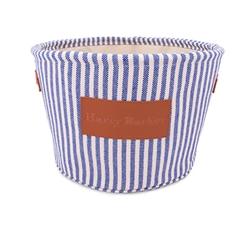 Vintage Stripe Toy Bin