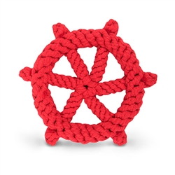 Rope Ship's Wheel Toy