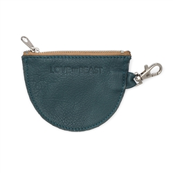 Emerald Leather Pouch