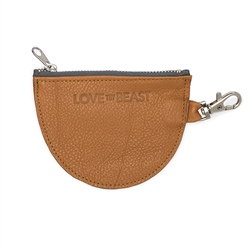 Caramel Leather Pouch