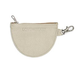 Cement Leather Pouch