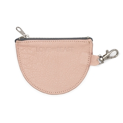 Blush Leather Pouch