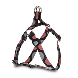 Polka Dot Webbing Harness - Pink