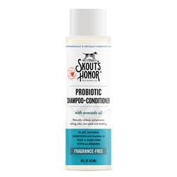 Skout's Honor Probiotic Shampoo+Conditioner Fragrance-Free (16oz)
