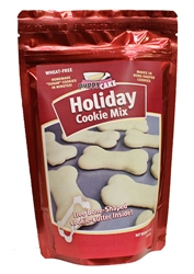 Holiday Cookie Mix w/Cookie Cutter (wheat-free) by Puppy Cake