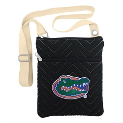 NCAA Florida Gators Chev-Stitch Cross Body Purse