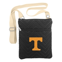 NCAA Tennessee Volunteers Chev-Stitch Cross Body Purse