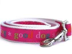 Good Dog! Pink Dog Leash
