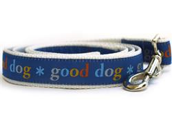 Good Dog! Blue Dog Leash