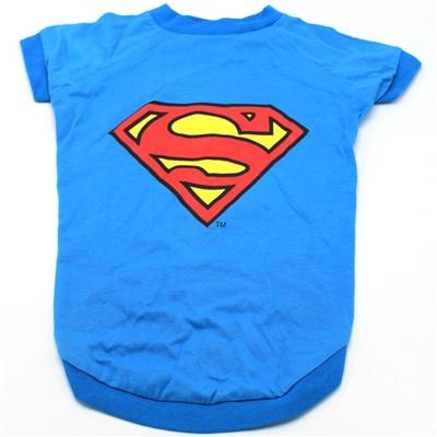 DC Superman Blue Logo Tee