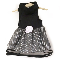 Black Tulle & Sequin Dress by Daisy and Lucy