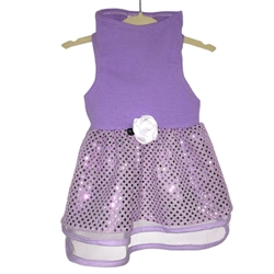 Lilac Tulle & Sequin Dress by Daisy and Lucy