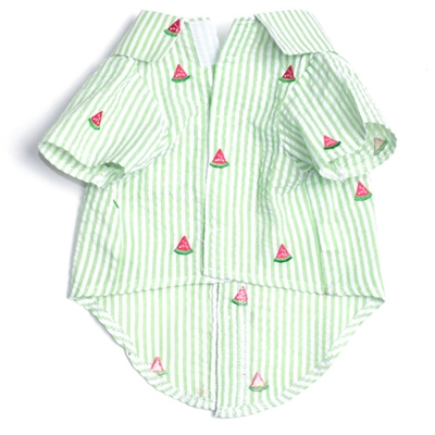 Green Stripe Watermelon Shirt