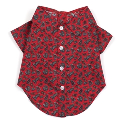 Paisley Red Shirt