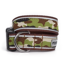 Camo Brown Collar & Lead Collection