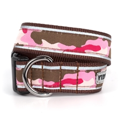Camo Pink Collar & Lead Collection