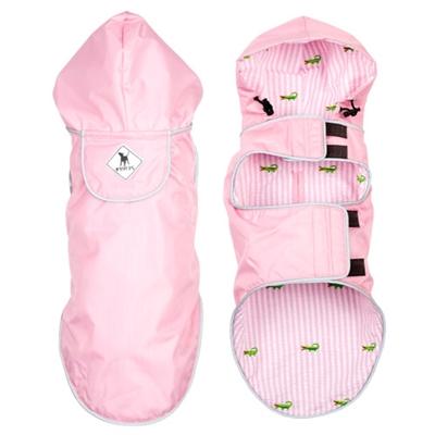 Pink/Alligator Seattle Slicker Jacket