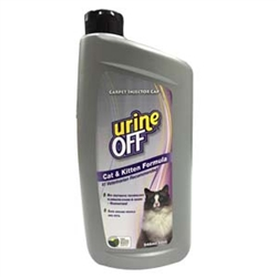 Urine Off for Cats & Kittens - 32oz Bottle Carpet Injector Cap (case of 12)