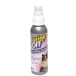 Urine Off for Cats & Kittens - 4oz Sprayer w/Clip Strip (case of 12)